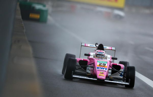 Joshua just missed the podium twice at the ADAC F4 at the Lausitzring II